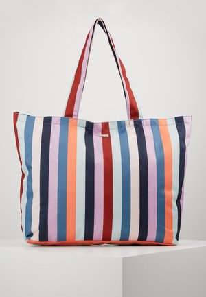 MIX - Shopping bag - red/blue