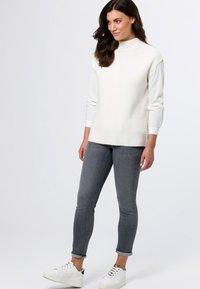 zero - Jeans Skinny Fit - grey soft wash - 1