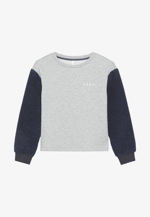 Sweatshirt - mid heather grey