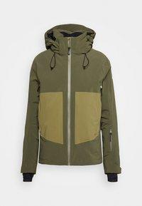 Salomon - EPIC - Winter jacket - olive night/martini olive/white - 8