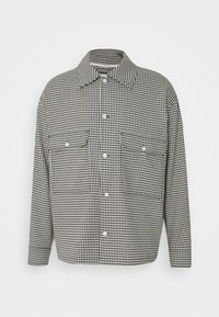 VAN CHECKED  - Shirt - black /white