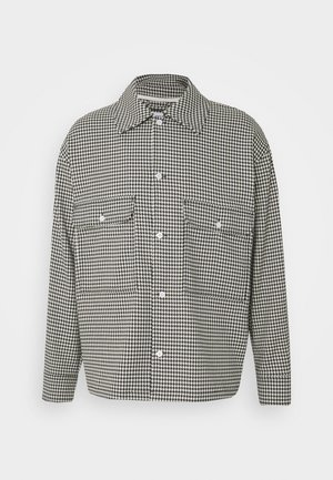 VAN CHECKED  - Shirt - black /white