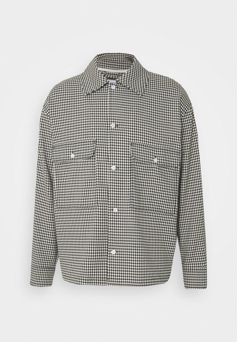 Weekday - VAN CHECKED  - Skjorta - black /white