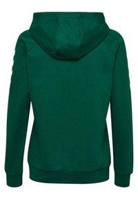 Hummel - HMLGO - Zip-up hoodie - evergreen - 1