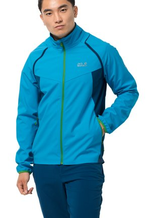 TANDEM - Soft shell jacket - blue jewel