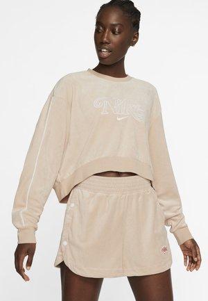 RETRO FEMME CREW TERRY - Sweatshirt - shimmer