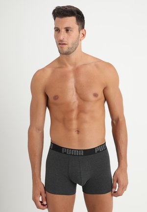 3 PACK - Pants - black/anthracite