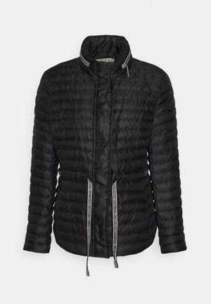 ECO LOGO TAPE - Down jacket - black