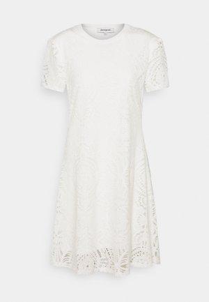 NILO - Jerseykjole - white