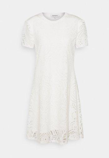 NILO - Jersey dress - white