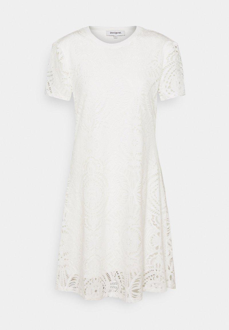 Desigual - NILO - Robe en jersey - white