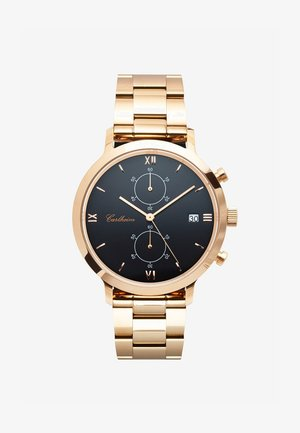 ADLER 42MM - Chronograph watch - rose gold-black