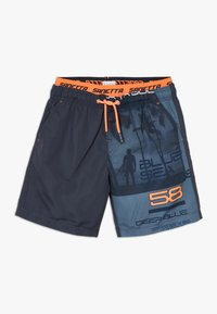 Sanetta - SWIM TRUNKS  - Swimming shorts - ombre blue - 0