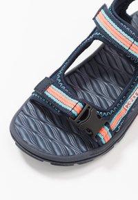 Kappa - RUSHEEN - Walking sandals - navy/coral - 2