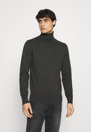ROLL NECK - Maglione - charcoal heather