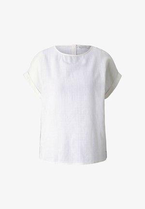Blouse - gardenia white