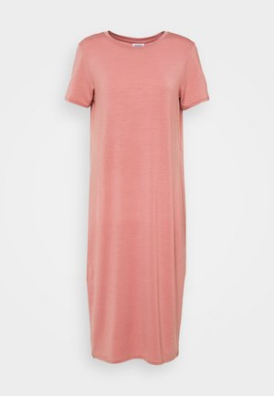 REGULAR FIT - Jersey dress - old rose