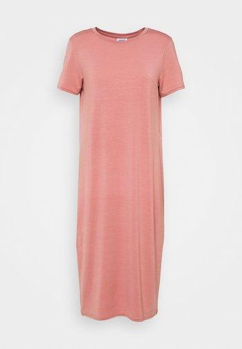 REGULAR FIT - Jersey dress - old rose
