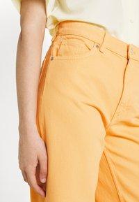 Monki - Straight leg jeans - mango yellow - 3