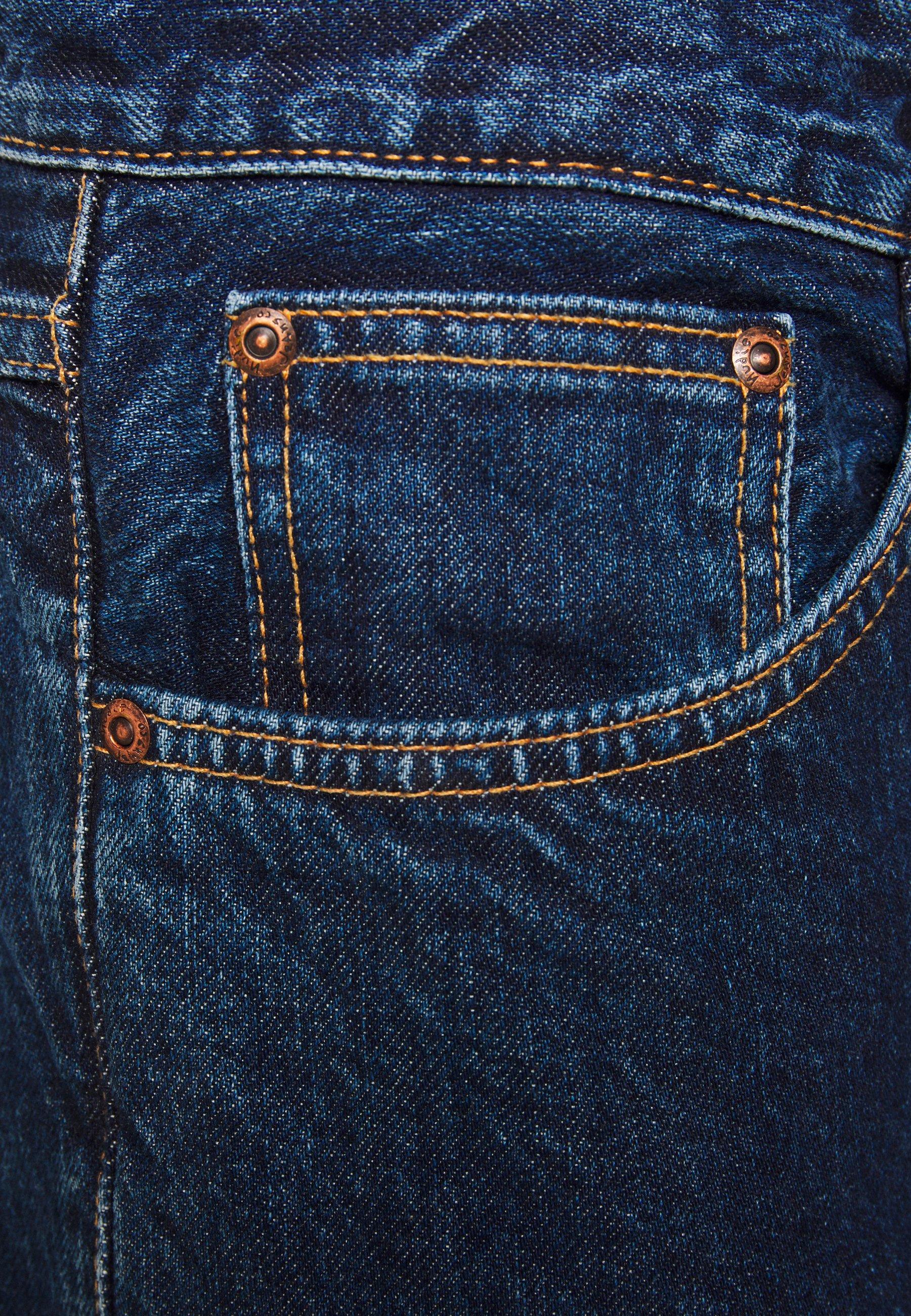 Nudie Jeans GRITTY JACKSON - Jean droit - dark space