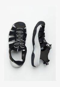 Keen - ASTORIA WEST  - Sandales de randonnée - black/grey - 1