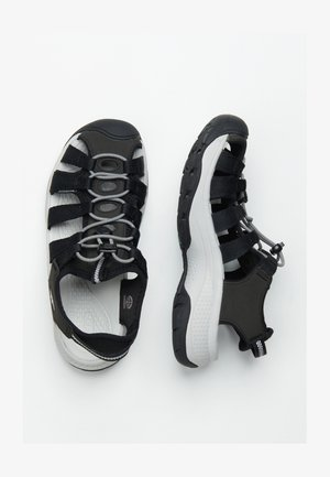 ASTORIA WEST  - Walking sandals - black/grey