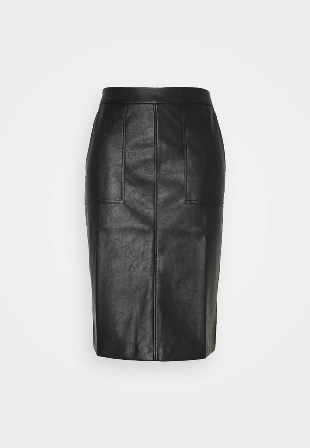 RUNIA - Pencil skirt - black