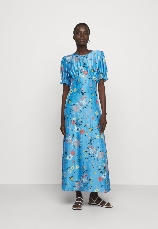 ELIZABETH DRESS - Maxi-jurk - topaz