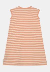 Marimekko - LUOSTOKKA TASARAITA - Jersey dress - off white/light apricot - 1