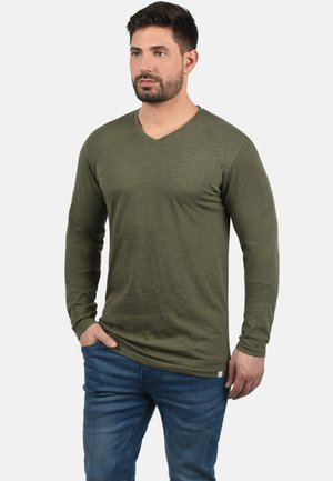 BEDA - Long sleeved top - ivy green