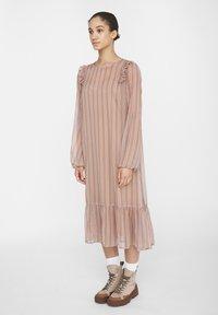 Noisy May - NM CHIFFON - Maxi dress - praline - 1