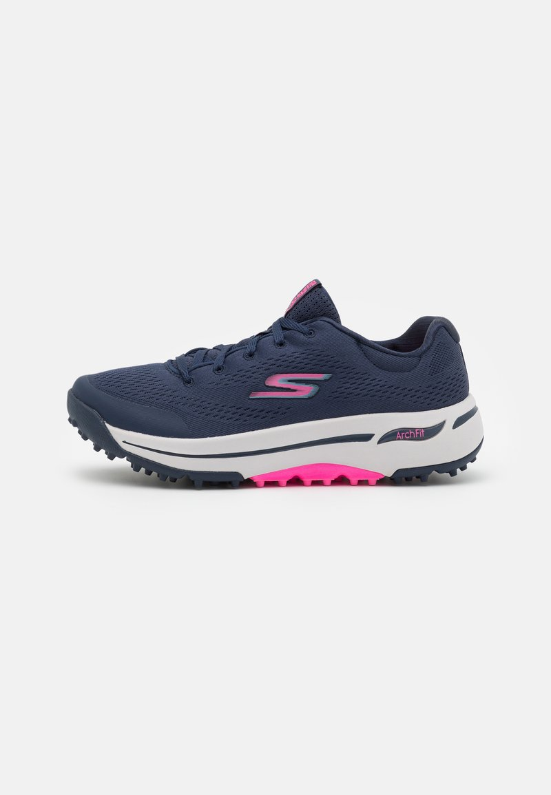 Skechers Performance - GO GOLF ARCH FIT - Golf shoes - navy/pink