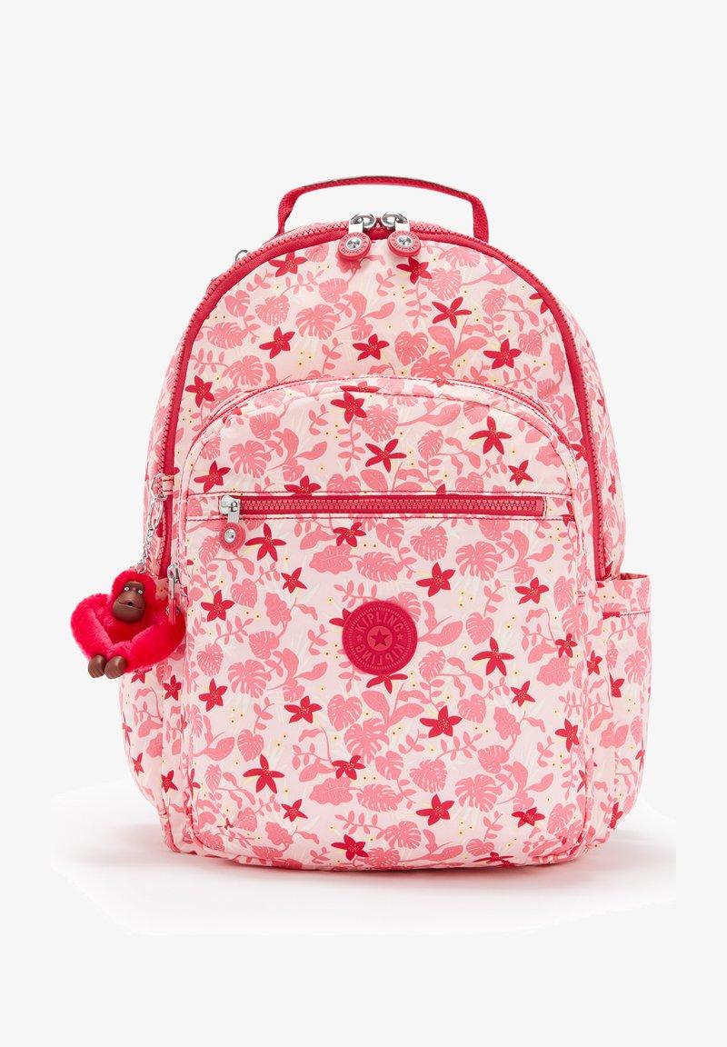 Kipling - SEOUL - Rucksack - pink leaves