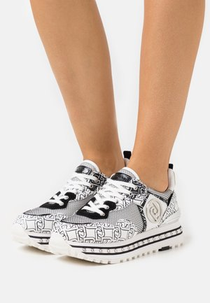 MAXI - Trainers - white/black