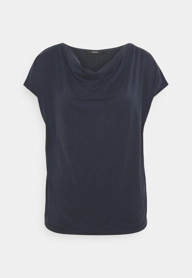 KIVU - T-shirt con stampa - universe blue