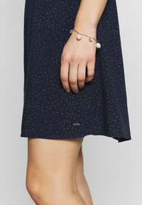 TOM TAILOR DENIM - DRESS WITH EMBROIDERY - Day dress - navy - 4