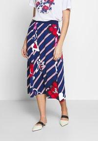 By Malene Birger - BIELLA - A-line skirt - ultramarine - 0