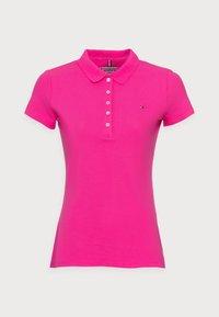 SHORT SLEEVE SLIM - Polo shirt - pink