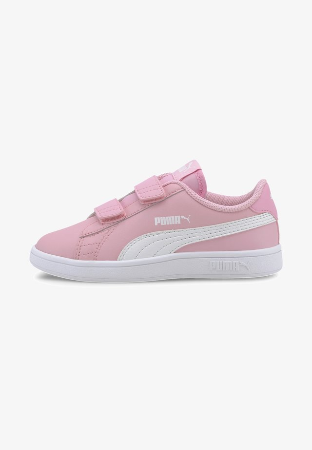 PUMA SMASH V2 L V PS - Sneakers basse - pale pink-puma white