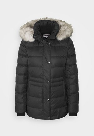 TYRA - Gewatteerde jas - black