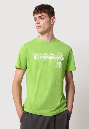 Print T-shirt - brillant green