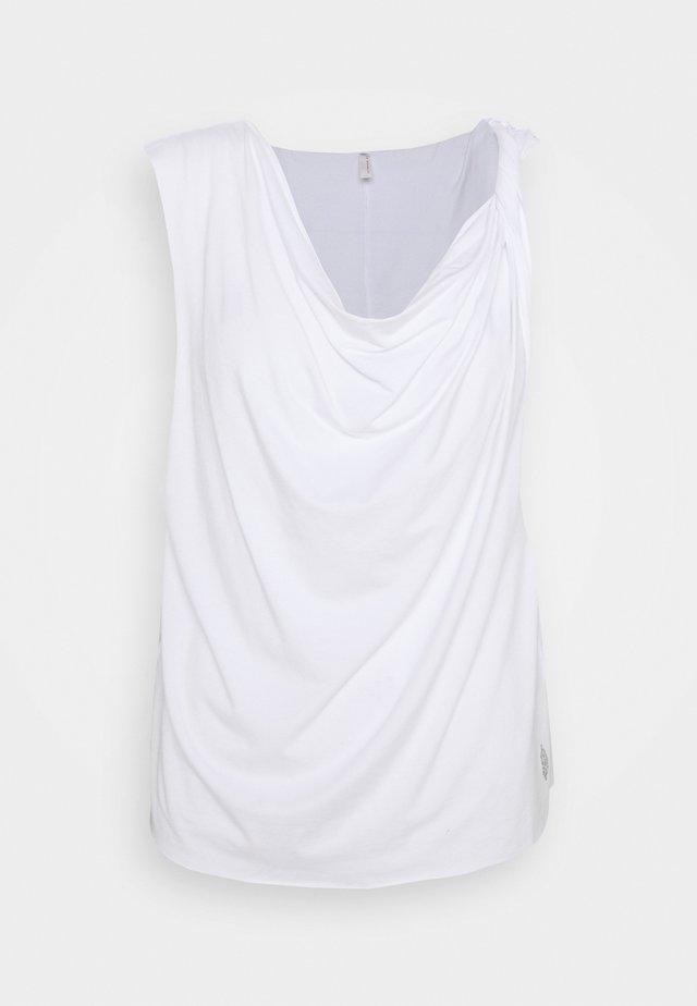 TURN AROUND TEE - T-shirt basic - white