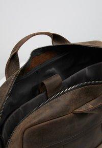 Strellson - HUNTER BRIEFBAG - Briefcase - dark brown - 4