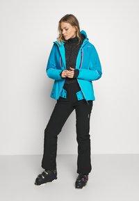 CMP - WOMAN JACKET FIX HOOD - Ski jacket - danubio - 1