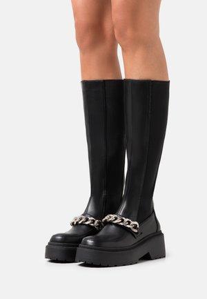 BURST - Platform boots - black