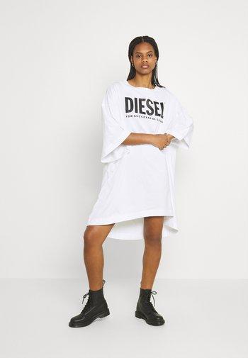 EXTRA ECOLOGO - Jersey dress - white