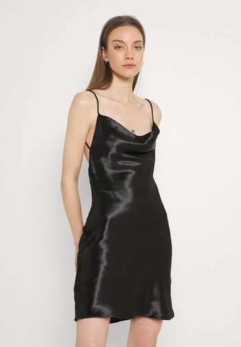 MINKY MINI DRESS - Kjole - black