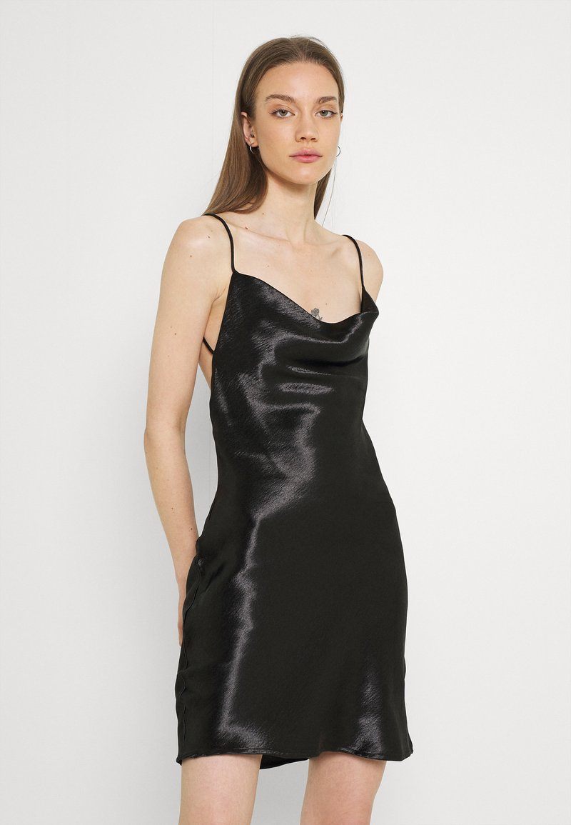 Gina Tricot - MINKY MINI DRESS - Sukienka letnia - black