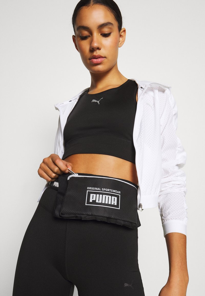 Puma - SOLE WAIST BAG UNISEX - Bum bag - black
