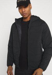 adidas Originals - HOODY - Chaqueta de entretiempo - black - 3